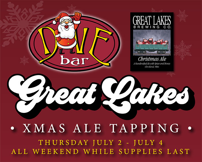 Xmas Ale In July!   Dive Bar Cleveland